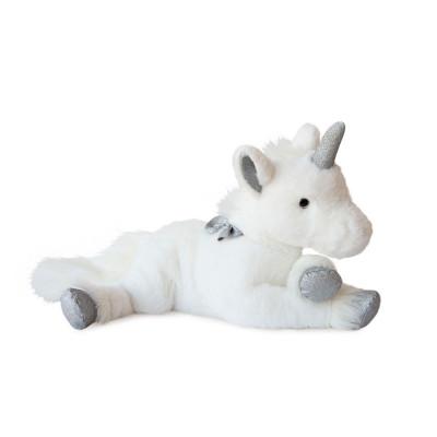 Мягкая игрушка HISTOIRE D'OURS – ЕДИНОРОГ СЕРЕБРИСТЫЙ (60 cm)