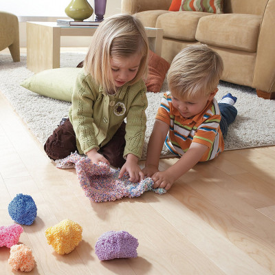 Набор шарикового пластилина EDUCATIONAL INSIGHTS - МОРСКОЙ БРИЗ (4 цвета)