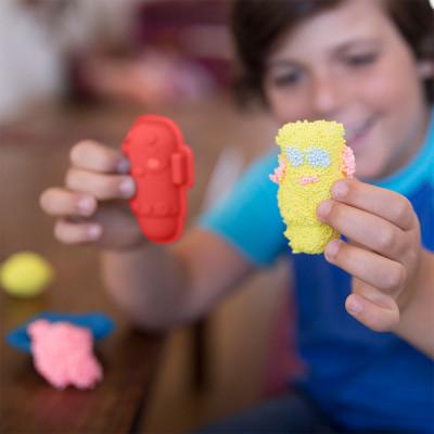 Набор шарикового пластилина EDUCATIONAL INSIGHTS - МИР РОБОТОВ (2 формочки, 4 цвета)