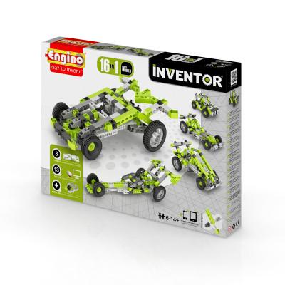 Конструктор серии INVENTOR 16 в 1 - Автомобили