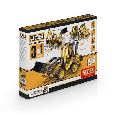 Конструктор серии JCB 3 в 1 – Строительные машины