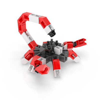 Конструктор серии STEM HEROES - Царство животных: скорпион