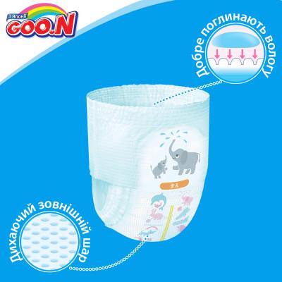 Трусики-подгузники GOO.N для мальчиков 12-20 кг (размер Big (XL), 38 шт)