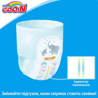 Трусики-подгузники GOO.N для девочек 12-20 кг (размер Big (XL), 38 шт)