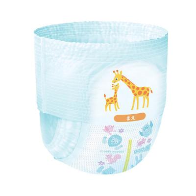 Подгузники GOO.N для детей 4-8 кг (размер S, на липучках, унисекс, 84 шт)