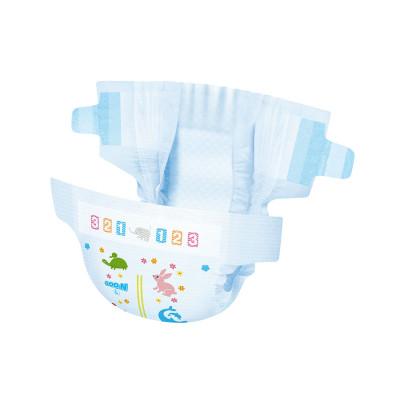 Подгузники GOO.N для детей 9-14 кг (размер L, на липучках, унисекс, 54 шт)