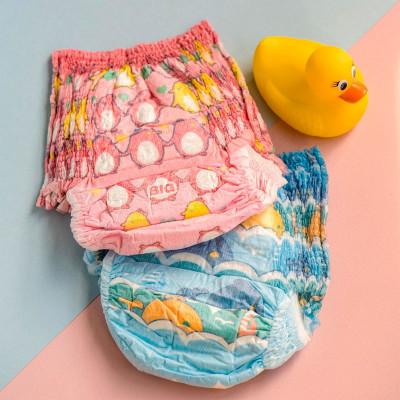 Трусики-подгузники для плавания GOO.N для мальчиков 9-14 кг, ростом 70-90 см (размер L, 12 шт)