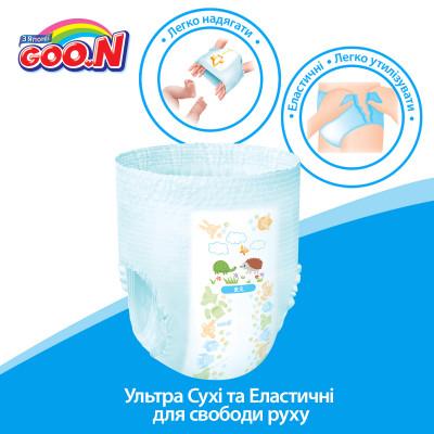 Трусики-подгузники GOO.N для девочек 13-25 кг (размер BigBig (XXL), 28 шт)