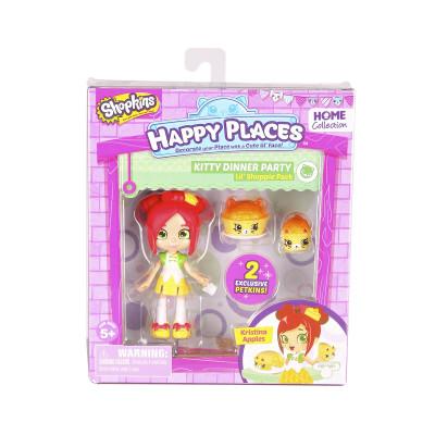 Кукла HAPPY PLACES S1 – КРИСТИНА ЭППЛС (2 эксклюзивных петкинса)