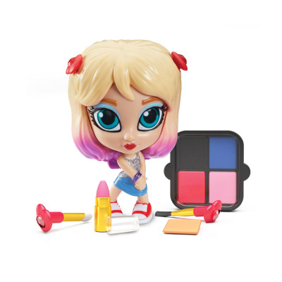 Игровой набор с куклой и косметикой 2 в 1 Instaglam S1 – ЛУНА