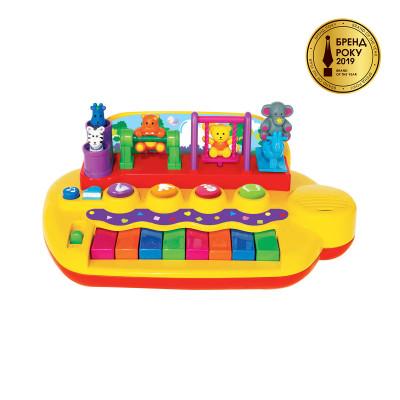 Пианино - ЗВЕРЯТА НА КАЧЕЛЯХ (звук)