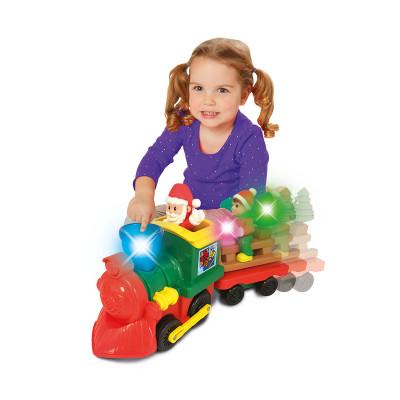 Игровой набор с железной дорогой - РОЖДЕСТВЕНСКИЙ ЭКСПРЕСС (свет, звук)