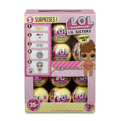 Игровой набор с мини-куклой L.O.L. S3 - СЕСТРИЧКА (35 видов в ассорт., в дисплее)