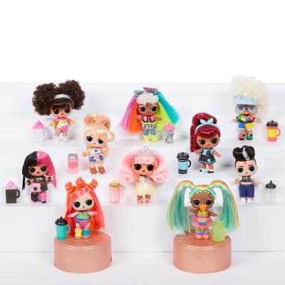 """Игровой набор с куклой L.O.L. S5 W2 серии """"Hairgoals"""" - МОДНОЕ ПЕРЕВОПЛОЩЕНИЕ (в ассорт., в дисплее)"""