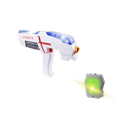 Игровой набор для лазерных боев - LASER X ДЛЯ ОДНОГО ИГРОКА (бластер, мишень)
