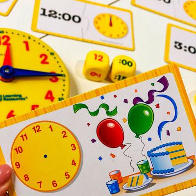 Обучающая игра LEARNING RESOURCES - ИЗУЧАЕМ ВРЕМЯ