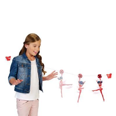 """Кукла """"ЛЕДИ БАГ И СУПЕР-КОТ""""  - НЕВЕРОЯТНЫЙ ПОЛЕТ (19 см, 3 точки артикуляции, с аксессуаром)"""