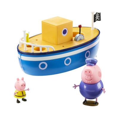 Игровой набор Peppa - МОРСКОЕ ПРИКЛЮЧЕНИЕ (кораблик, 2 фигурки)