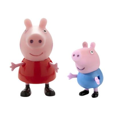 Набор фигурок Peppa - ПЕППА И ЕЕ ДРУЗЬЯ (Пеппа и Джордж)
