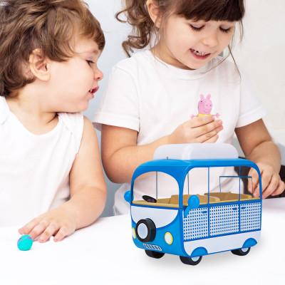 Игровой набор Peppa - ДОМИК НА КОЛЕСАХ (фигурка Пеппы, автобус)