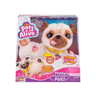 Интерактивная мягкая игрушка PETS ALIVE – ТАНЦУЮЩИЙ МОПС
