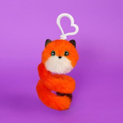 Мягкая игрушка POMSIE POOS S1 – ЛИСИЧКА ФОКСИ (на клипсе)