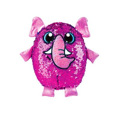 Мягкая игрушка с пайетками SHIMMEEZ S2 - СЛОН ПИНКИ (20 см)