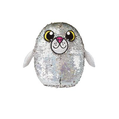 Мягкая игрушка с пайетками SHIMMEEZ S2 - ТЮЛЕНЬ БЛЕСТЯШКА (20 см)