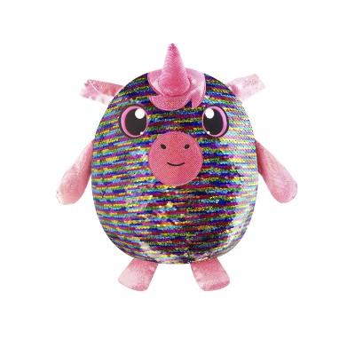 Мягкая игрушка с пайетками SHIMMEEZ – ВОЛШЕБНЫЙ ЕДИНОРОГ  (20 см)