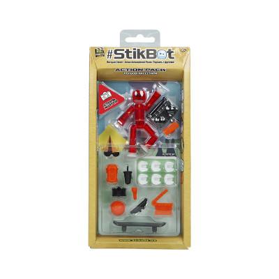 Фигурка для анимационного творчества STIKBOT S2 - LIFE STYLE (1 экскл. фиг., аксессуары)