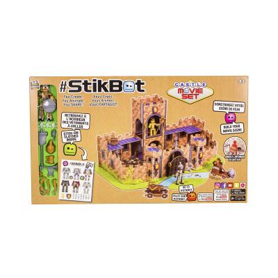 Игровой набор для анимационного творчества STIKBOT – ЗАМОК (1 фиг., наклейки, аксесс.)