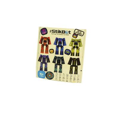 Игровой набор для анимационного творчества STIKBOT – КОСМОС (1 фиг., наклейки, аксесс.)
