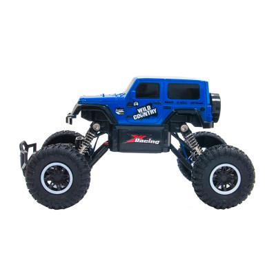 Автомобиль OFF-ROAD CRAWLER на р/у – WILD COUNTRY (синий, аккум. 3,6V, 1:20)