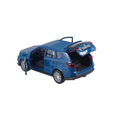 Автомодель -MITSUBISHI OUTLANDER (1:32, голубой)