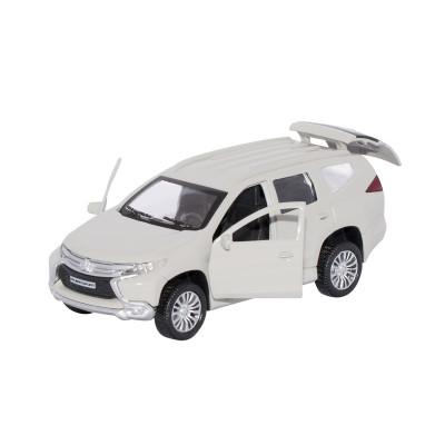 Автомодель - MITSUBISHI PAJERO SPORT  (1:32, белый)