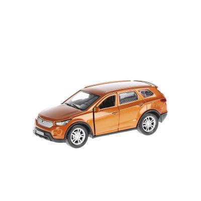 Автомодель - HYUNDAI SANTA FE (1:32, оранжевый)