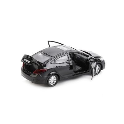 Автомодель - HYUNDAI SOLARIS (1:32, черный)