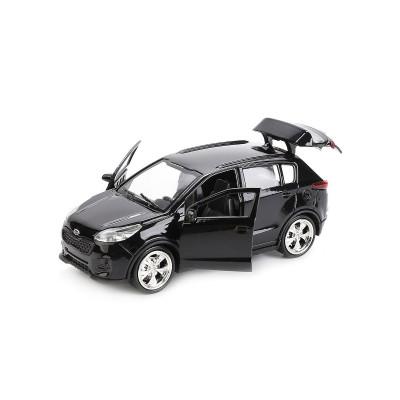 Автомодель - KIA SPORTAGE (1:32, черный)