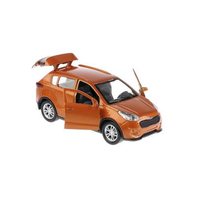 Автомодель - KIA SPORTAGE (1:32, оранжевый)