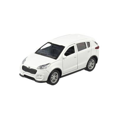 Автомодель - KIA SPORTAGE (1:32, белый)