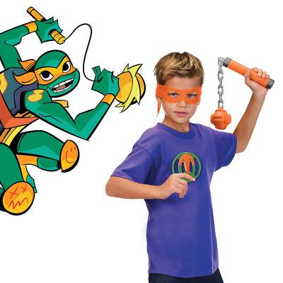 Набор игрушечного оружия серии «Эволюция Черепашек-Ниндзя»- СНАРЯЖЕНИЕ МИКЕЛАНДЖЕЛО