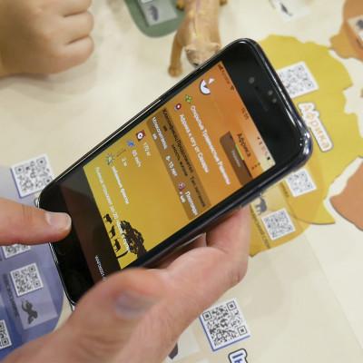 Обучающий игровой набор с QR-картой - ТРАВОЯДНЫЕ ДИНОЗАВРЫ