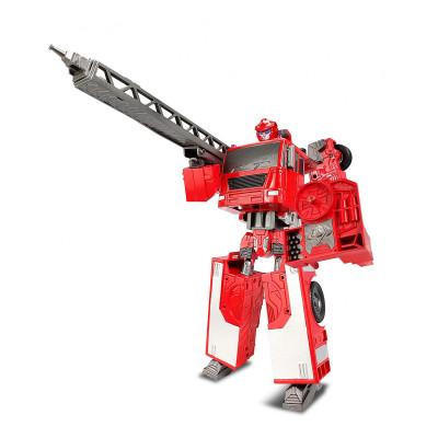 Робот-трансформер - ПОЖАРНАЯ МАШИНА