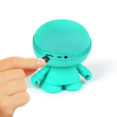 Акуст. стереосистема XOOPAR - XBOY GLOW(12cm,мят.,Bluetooth,MP3/SD-карт,микроф.,аудио&USB-каб.,LED)