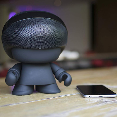 Акуст. стереосистема XOOPAR - GRAND XBOY (20 cm,чёрн.,Bluetooth,микроф,аудио&USB-каб.,LED)