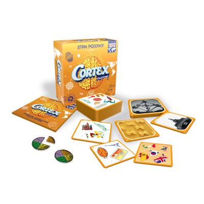 Настольная игра - CORTEX CHALLENGE ВОКРУГ СВЕТА (90 карточек, 24 фишки)